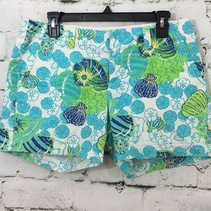 EUC Lilly Pulitzer sea shell shorts
